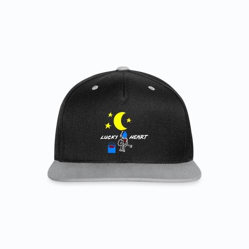Lucky Heart - Painting the moon - Kontrast Snapback Cap