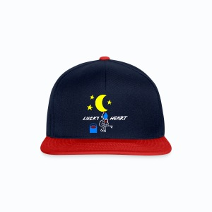 Lucky Heart - Painting the moon - Snapback Cap