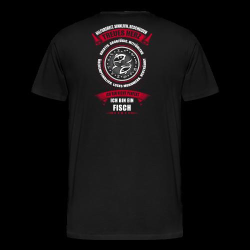 Fisch Sternzeichen Horoscop Horoskop - Männer Premium T-Shirt