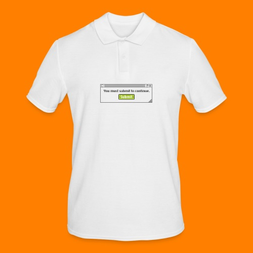 Submit to continue - men's tee - Men's Polo Shirt