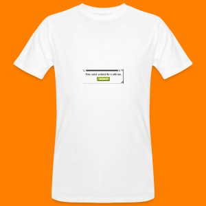 Submit to continue - men's tee - Men's Organic T-shirt