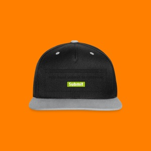 Submit to continue - men's tee - Contrast Snapback Cap