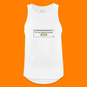 Submit to continue - men's tee - Men's Breathable Tank Top