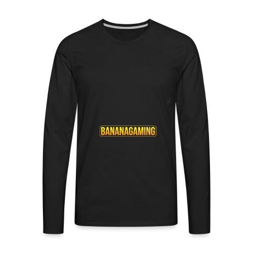 Banana Mug Extended - Men's Premium Longsleeve Shirt