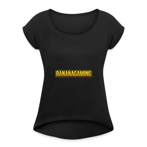 Banana Mug Extended - Women's T-shirt with rolled up sleeves
