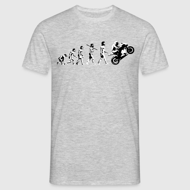 Motorcycle Wheelie Evolution Bace Bike Life Biker - Men's T-Shirt