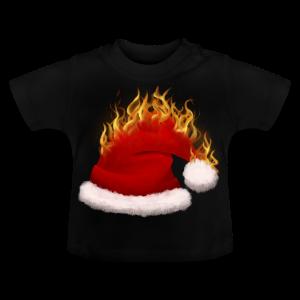 Brændende Nissehue - Baby T-shirt