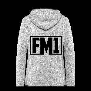 FM1 Hoodie (unisex) - Dame hætte-fleecejakke