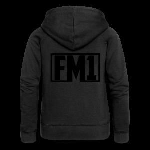 FM1 Hoodie (unisex) - Dame Premium hættejakke