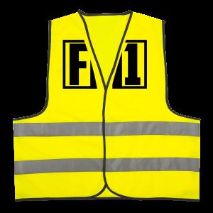FM1 Hoodie (unisex) - Sikkerhedsvest