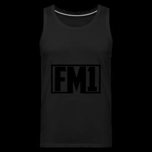 FM1 Hoodie (unisex) - Herre Premium tanktop