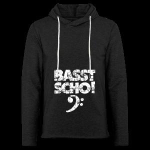 Basst Scho Vintage (Weiß) Bass Hoodie - Leichtes Kapuzensweatshirt Unisex