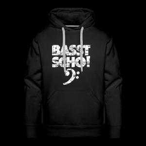 Basst Scho Vintage (Weiß) Bass Hoodie - Männer Premium Hoodie