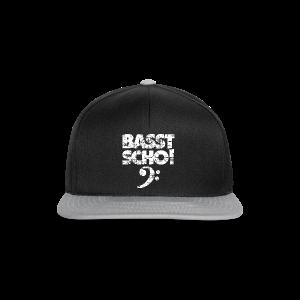 Basst Scho Vintage (Weiß) Bass Hoodie - Snapback Cap