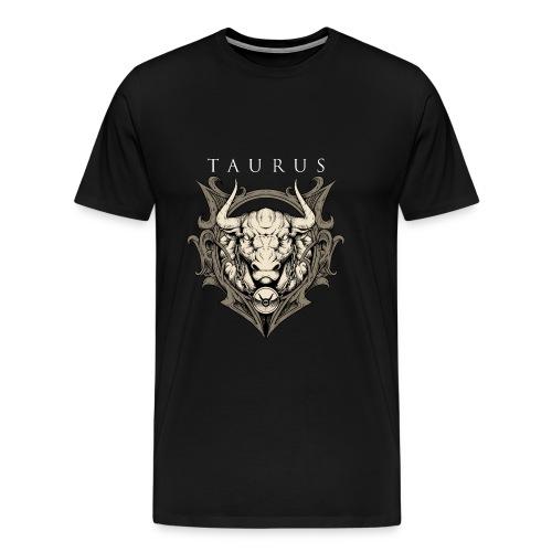 Stier Geburtstags Geschenk - RAHMENLOS Shirt Design - Männer Premium T-Shirt