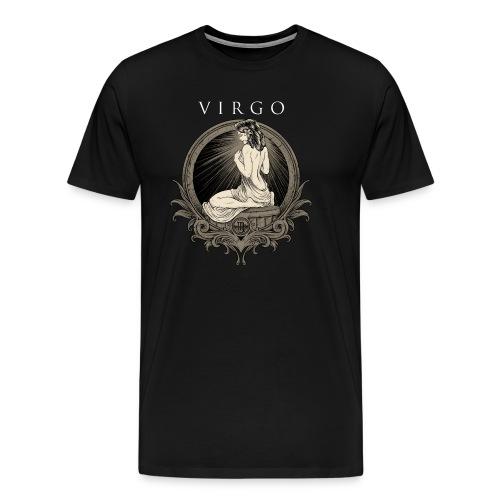 Jungfrau Geburtstags Geschenk - RAHMENLOS Shirt Design - Männer Premium T-Shirt