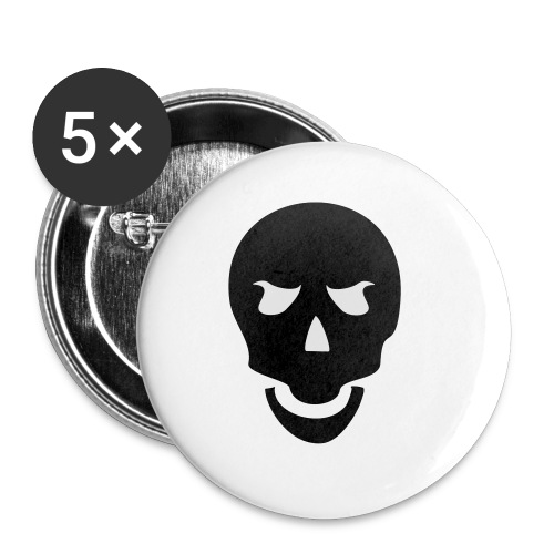 Skull Tribal - Buttons klein 25 mm