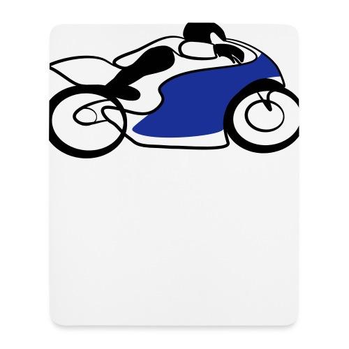 Race Speed Biker Motorrad Tribal - Mousepad (Hochformat)