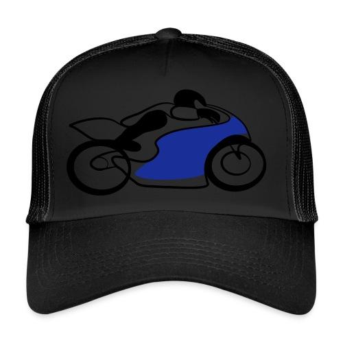Race Speed Biker Motorrad Tribal - Trucker Cap