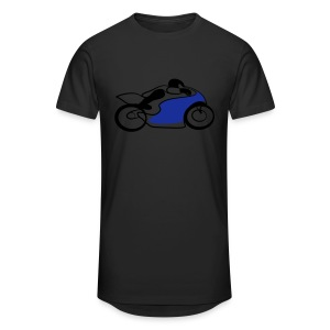 Race Speed Biker Motorrad Tribal - Männer Urban Longshirt