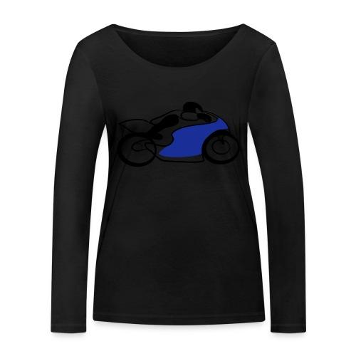 Race Speed Biker Motorrad Tribal - Frauen Bio-Langarmshirt von Stanley & Stella