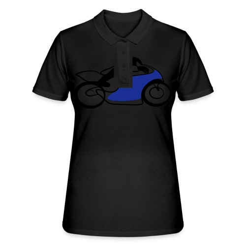 Race Speed Biker Motorrad Tribal - Frauen Polo Shirt
