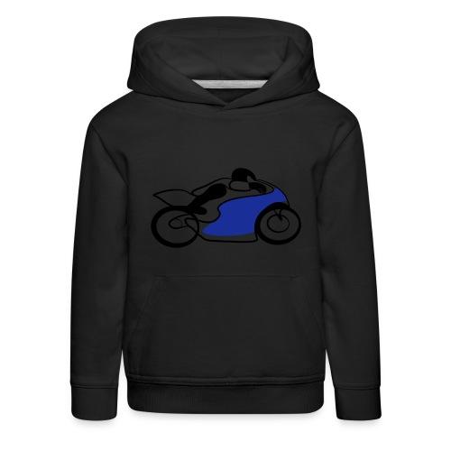 Race Speed Biker Motorrad Tribal - Kinder Premium Hoodie