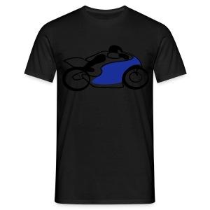 Race Speed Biker Motorrad Tribal - Männer T-Shirt