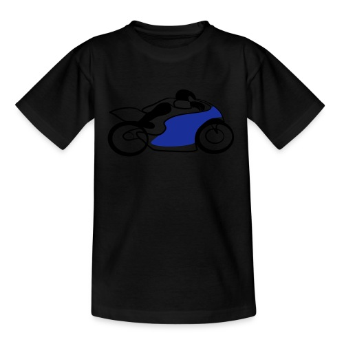 Race Speed Biker Motorrad Tribal - Kinder T-Shirt