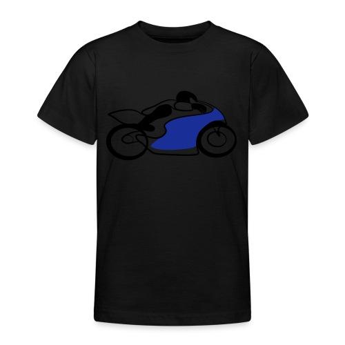 Race Speed Biker Motorrad Tribal - Teenager T-Shirt