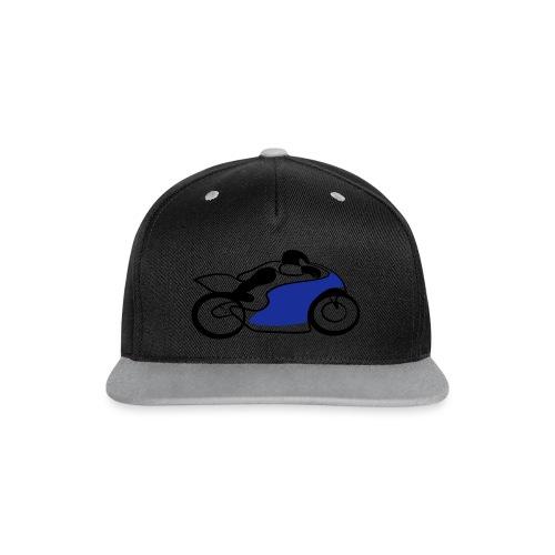 Race Speed Biker Motorrad Tribal - Kontrast Snapback Cap