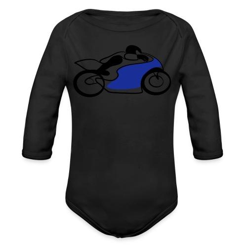 Race Speed Biker Motorrad Tribal - Baby Bio-Langarm-Body
