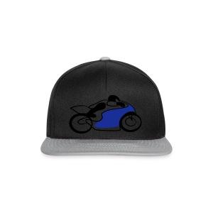 Race Speed Biker Motorrad Tribal - Snapback Cap