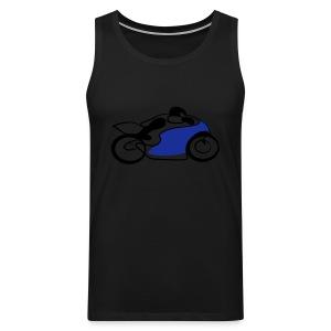 Race Speed Biker Motorrad Tribal - Männer Premium Tank Top
