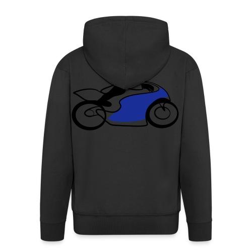 Race Speed Biker Motorrad Tribal - Männer Premium Kapuzenjacke
