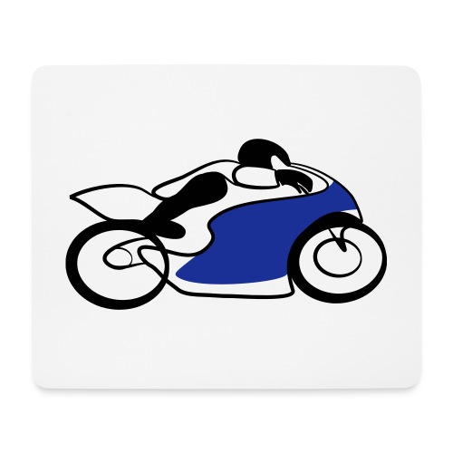 Race Speed Biker Motorrad Tribal - Mousepad (Querformat)