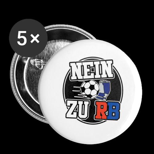 Nein zu RB Button - Buttons klein 25 mm (5er Pack)