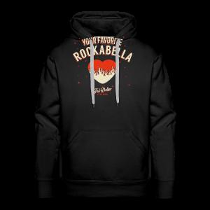 Your Favorite Rockabella - Sweat-shirt à capuche Premium pour hommes