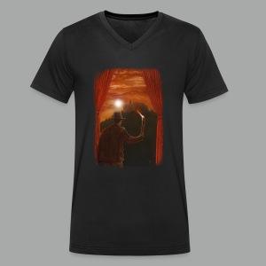 Abenteuer in Marburg, Grunge - Männer Bio-T-Shirt mit V-Ausschnitt von Stanley & Stella