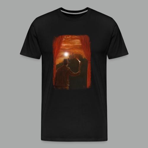 Abenteuer in Marburg, Grunge - Männer Premium T-Shirt
