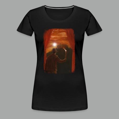 Abenteuer in Marburg, Grunge - Frauen Premium T-Shirt