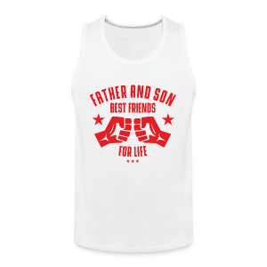 Father and Son - Männer Premium Tank Top