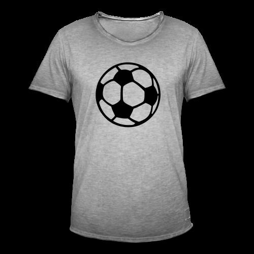 Fußball T-Shirt - Männer Vintage T-Shirt