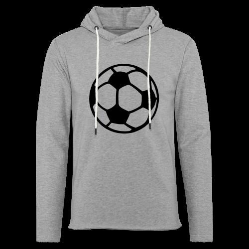 Fußball T-Shirt - Leichtes Kapuzensweatshirt Unisex