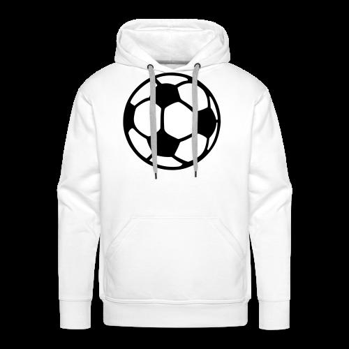 Fußball T-Shirt - Männer Premium Hoodie