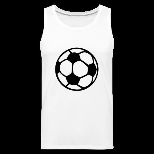 Fußball T-Shirt - Männer Premium Tank Top