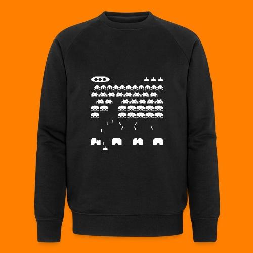 70s and 80s invaders video game - women's tee - Men's Organic Sweatshirt by Stanley & Stella