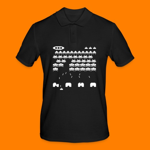 70s and 80s invaders video game - women's tee - Men's Polo Shirt