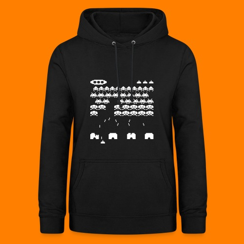 70s and 80s invaders video game - women's tee - Women's Hoodie