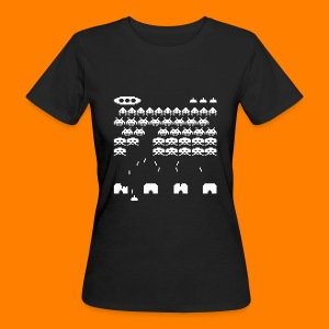 70s and 80s invaders video game - women's tee - Women's Organic T-shirt